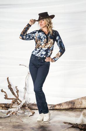 Bild von Five-Pocket-Jeans mit Dehnbund