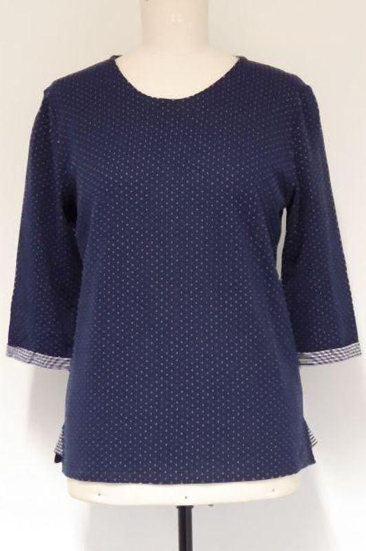 Bild von Damen Sweatshirt mit 3/4 Arm