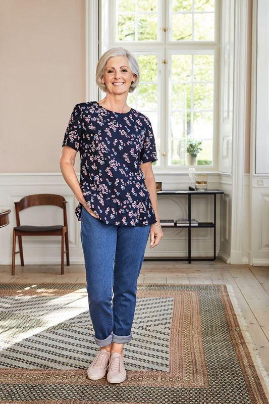 Bild von Jeans mit elastischem Bund