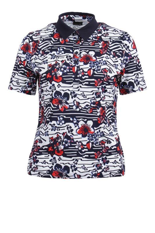 Bild von Dehnbare Damen Poloshirt