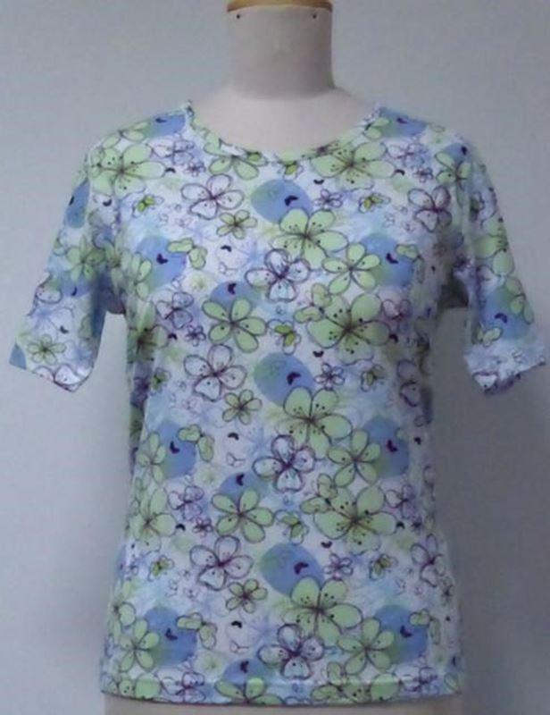 Bild von Damen T-Shirt Rundhals