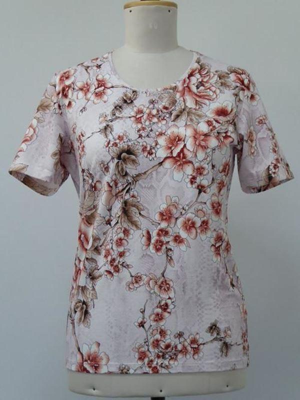Bild von Damen T-Shirt mit Rundhals